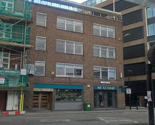 40-42 Charterhouse London office building facade
