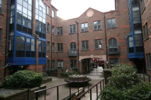 Unit 5 Angel Gate office courtyard