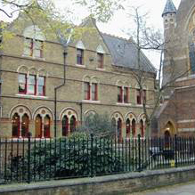 Facade of St Michaels Clergy Offices